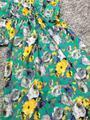 Платье в пол серо зеленое