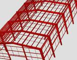 Каркас для строительства магазина 17. 1х21х5. 2